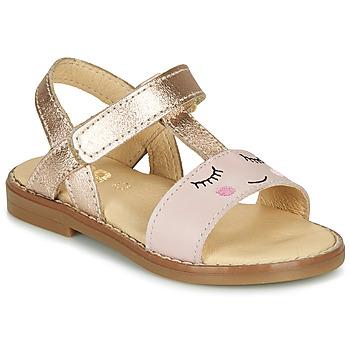 Sapatos Rapariga Sandálias GBB NAZETTE Rosa