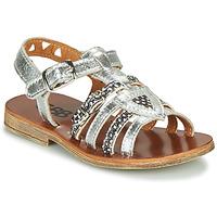 Sapatos Rapariga Sandálias GBB FANNI Prata