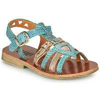 Sapatos Rapariga Sandálias GBB FANNI Azul