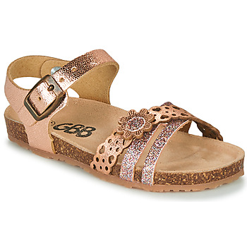Sapatos Rapariga Sandálias GBB PANORA Rosa / Ouro
