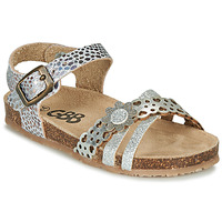 Sapatos Rapariga Sandálias GBB PANORA Prata