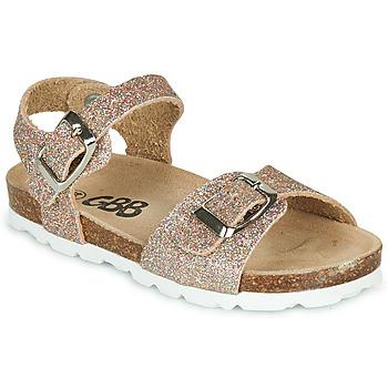 Sapatos Rapariga Sandálias GBB PIPPA Rosa / Ouro