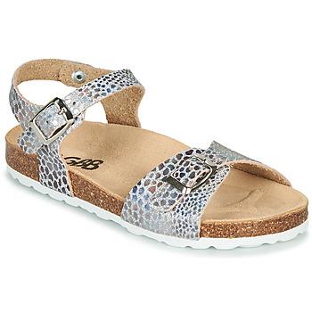 Sapatos Rapariga Sandálias GBB PIPPA Prata