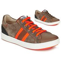 Sapatos Rapaz Sapatilhas GBB ANTENO Castanho / Laranja