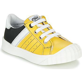 Sapatos Rapaz Sapatilhas GBB LINNO Amarelo