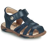 Sapatos Rapaz Sandálias GBB LUCA Azul