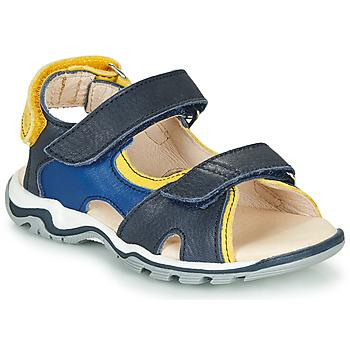 Sapatos Rapaz Sandálias GBB DIMOU Azul