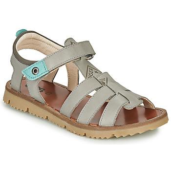 Sapatos Rapaz Sandálias GBB PATHE Cinza / Azul