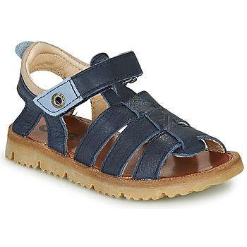 Sapatos Rapaz Sandálias GBB PATHE Azul