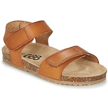Sapatos Rapaz Sandálias GBB KIPILO Castanho