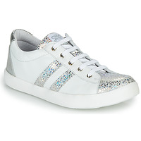 Sapatos Rapariga Sapatilhas GBB MAPLUE Branco / Prata