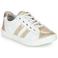 Sapatos Rapariga Sapatilhas GBB MAPLUE Branco / Ouro