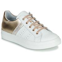Sapatos Rapariga Sapatilhas GBB DANINA Branco / Ouro