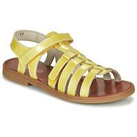 Sapatos Rapariga Sandálias GBB KATAGAMI Amarelo