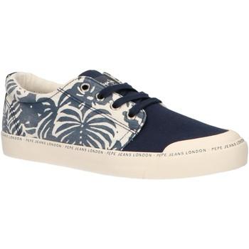 Sapatos Rapaz Sapatilhas Pepe jeans PBS30383 TRAVELLER Azul
