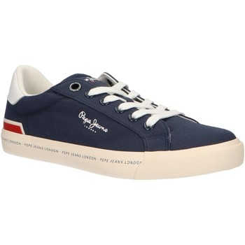 Sapatos Rapaz Multi-desportos Pepe jeans PBS30402 TENNIS Azul