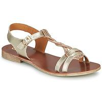 Sapatos Rapariga Sandálias GBB EUGENA Ouro