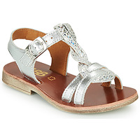 Sapatos Rapariga Sandálias GBB EUGENA Prata