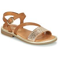 Sapatos Rapariga Sandálias GBB FANA Conhaque