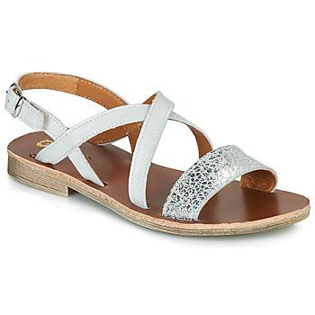 Sapatos Rapariga Sandálias GBB FAVOLA Branco