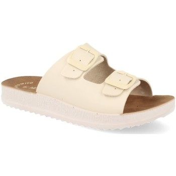 Sapatos Mulher Chinelos Ainy HG19-715 Beige