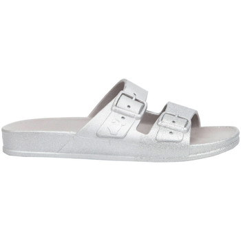 Sapatos Mulher Chinelos Cacatoès Salvador Prata