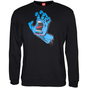 Textil Homem Sweats Santa Cruz Screaming hand Preto