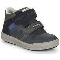 Sapatos Rapaz Sapatilhas Geox ARZACH M Marinho