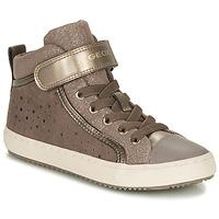 Sapatos Rapariga Sapatilhas Geox KALISPERE Bege