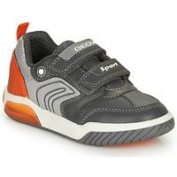 Sapatos Rapaz Sapatilhas Geox INEK BOY Cinza