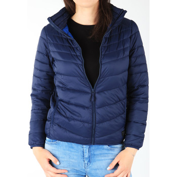 Textil Mulher Quispos Lee Light Puffer Bright Navy L58PSZCF granatowy