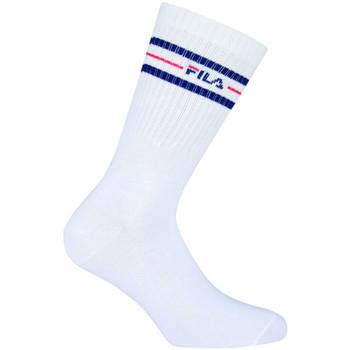 Acessórios Homem Meias Fila Normal socks manfila3 pairs per pack Branco