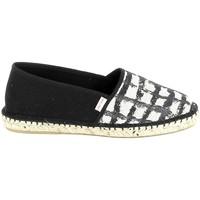 Sapatos Mulher Alpargatas Pare Gabia PARE GABIA VP Mix Noir Blanc Preto