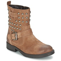 Sapatos Rapariga Botas Geox SOFIA C Castanho