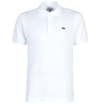 Textil Homem Polos mangas curta Lacoste POLO L12 12 REGULAR Branco