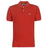 Textil Homem Polos mangas curta Lacoste POLO L12 12 REGULAR Vermelho