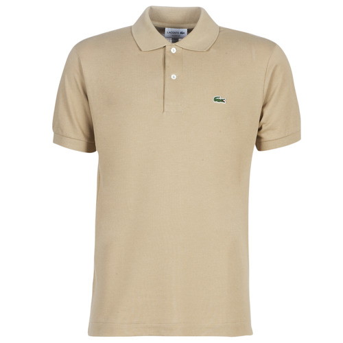 Textil Homem Polos mangas curta Lacoste POLO L12 12 REGULAR Bege