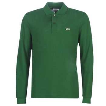 Textil Homem Polos mangas compridas Lacoste L1312 Verde