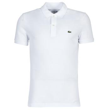 Textil Homem Polos mangas curta Lacoste PH4012 SLIM Branco