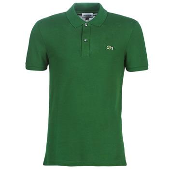 Textil Homem Polos mangas curta Lacoste PH4012 SLIM Verde