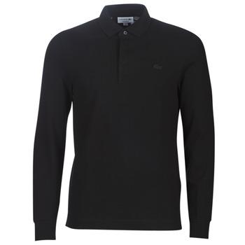 Textil Homem Polos mangas compridas Lacoste PH2481 REGULAR Preto