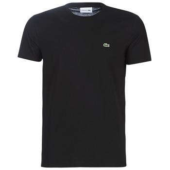 Textil Homem T-Shirt mangas curtas Lacoste TH6709 Preto