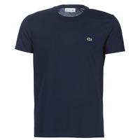Textil Homem T-Shirt mangas curtas Lacoste TH6709 Marinho