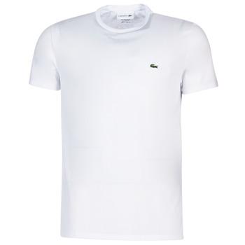Textil Homem T-Shirt mangas curtas Lacoste TH6709 Branco
