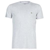 Textil Homem T-Shirt mangas curtas Lacoste TH6709 Cinza