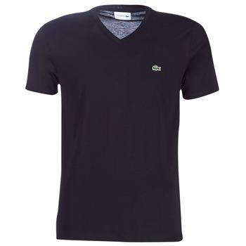 Textil Homem T-Shirt mangas curtas Lacoste TH6710 Preto