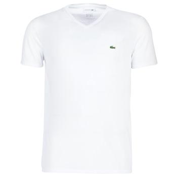 Textil Homem T-Shirt mangas curtas Lacoste TH6710 Branco