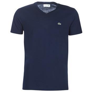 Textil Homem T-Shirt mangas curtas Lacoste TH6710 Marinho