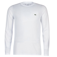 Textil Homem T-shirt mangas compridas Lacoste TH6712 Branco