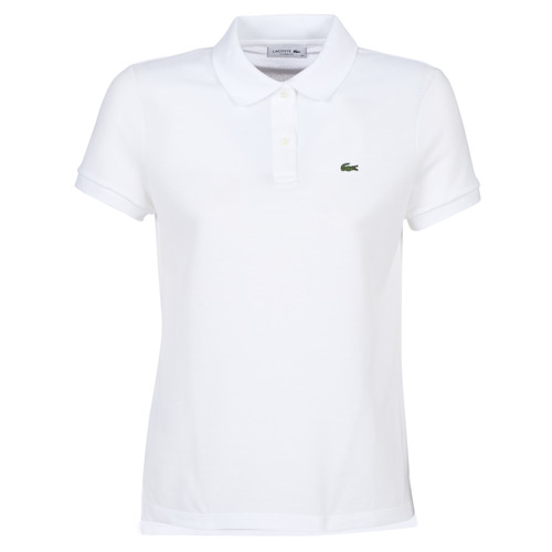 Textil Mulher Polos mangas curta Lacoste PF7839 Branco